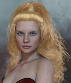 Virginia Hair V4 M4 Poser