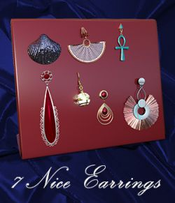 Nice Earrings DxT G3F and G8F