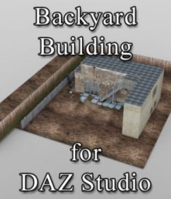 Backyard Building - for DAZ Studio