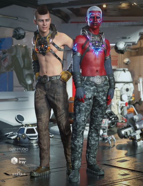 Symbiont Outfit Textures
