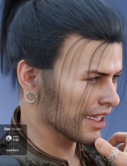 Gauged Ears for Genesis 8 Male(s)