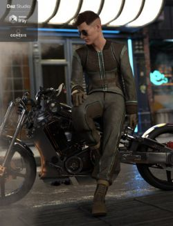 Intergalactic Spy Outfit for Genesis 8 Male(s)
