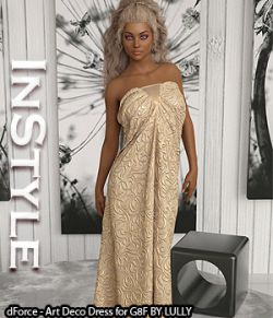 InStyle- dForce- Art Deco Dress for G8F