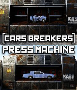 Car Breakers: Cars Press Machine for DS Iray