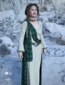 dForce Scottish Wear for Genesis 8 Female(s)
