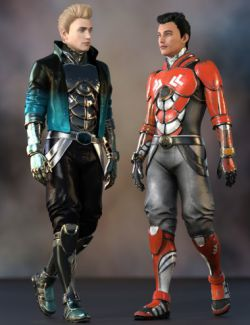 Noah Sci-fi Outfit for Genesis 8 Male(s)