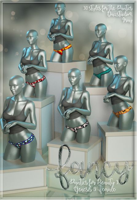 Fancy Panties For Beauty G8F