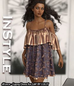 InStyle- dForce- Gypsy Dress for G8F