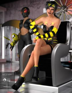 Queen Bee Outfit for Genesis 8 Female(s)