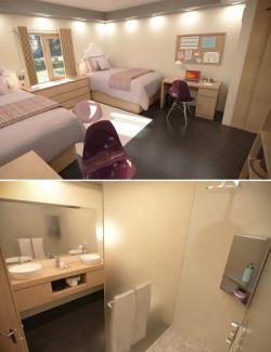 Girls Dorm Room
