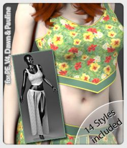Alima Set and 14 Styles for PE, V4, Dawn and Pauline