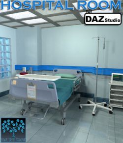 Hospital Room for Daz Studio