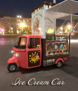 AJ Ice Cream Car