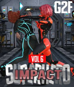 SuperHero Impact for G2F Volume 6
