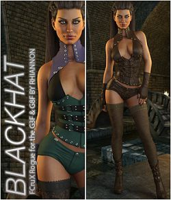 BLACKHAT- CruX Rogue for the Genesis 3 and Genesis 8 Females