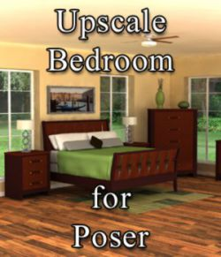 Upscale Bedroom - for Poser