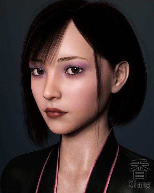 EJ Midori for Genesis 8 Female - Render-State