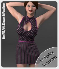 Mia Dress and 14 Styles for PE, V4, Dawn and Pauline
