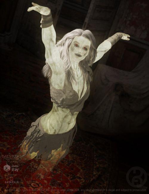 Iray Spectre for Genesis 8 Female