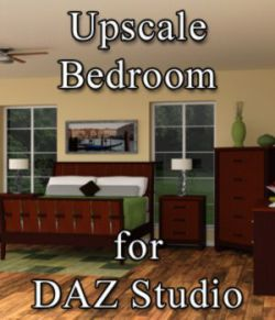 Upscale Bedroom - for DAZ Studio