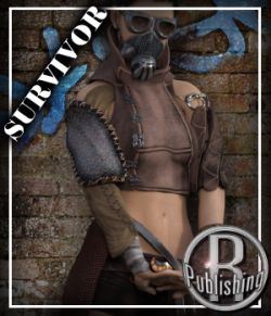 Outlanders: Survivor - for DazStudio and Genesis 8 Female