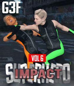 SuperHero Impact for G3F Volume 6