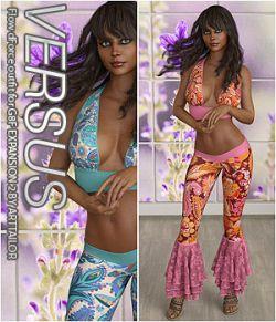 VERSUS - Flow dForce outfit for G8F EXPANSION 2