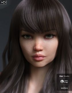 Danae HD for Genesis 8 Female