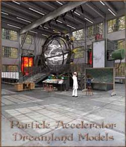 Particle Accelerator For DS