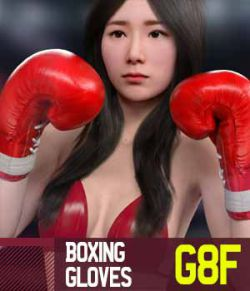 Boxing Gloves G8F for Genesis 8 Female