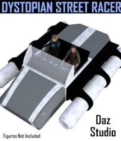 Dystopian Street Racer for Daz Studio