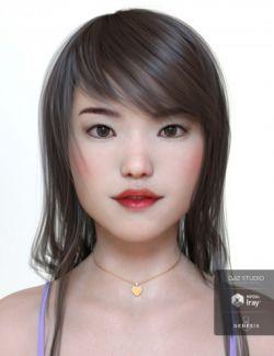 Hikaru & dForce Lingerie for Genesis 8 Female(s)