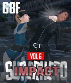 SuperHero Impact for G8F Volume 6
