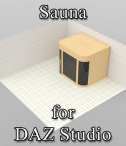 Sauna (for DAZ Studio)