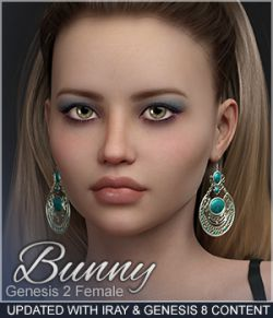 Sabby-Bunny for Genesis 2  with Iray