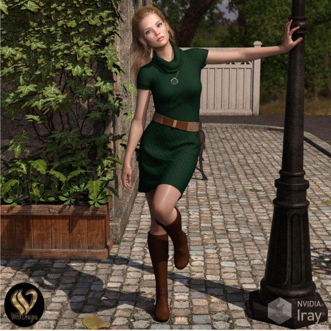 dForce Jocelyn Outfit for Genesis 8 Females