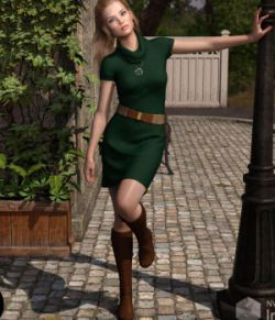 dForce Jocelyn Outfit for Genesis 8 Females