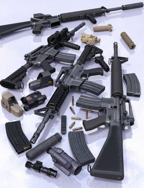 Modern Weapons Collection 2