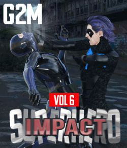SuperHero Impact for G2M Volume 6