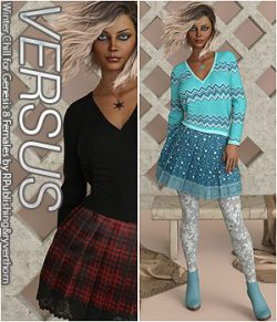 VERSUS- Winter Chill for Genesis 8 Females