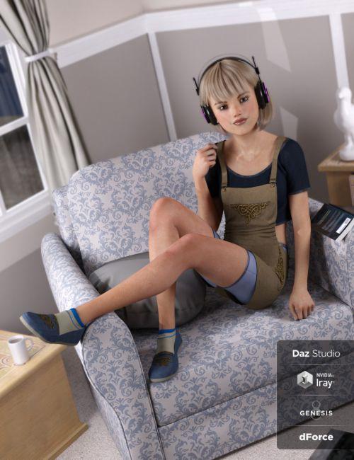 dForce Blum for Genesis 8 Female(s)