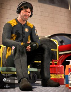 dForce Coveralls and Tools for Genesis 8 Male(s)