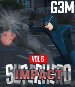 SuperHero Impact for G3M Volume 6