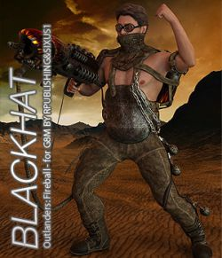 BLACKHAT - Outlanders: Fireball - for DS and Genesis 8 Male