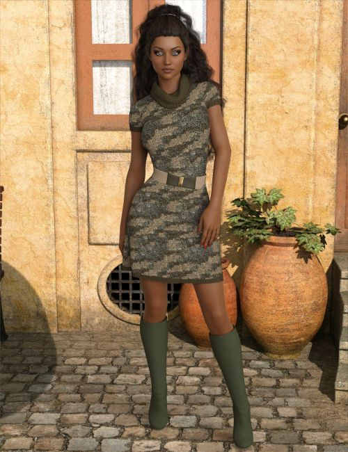 InStyle - dForce Jocelyn Outfit for Genesis 8 Females