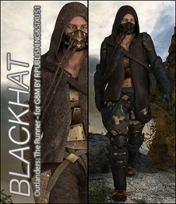 BLACKHAT- Outlanders: The Runner- For DS & Genesis8 Male