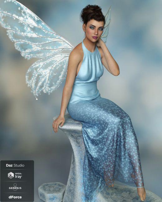 dForce Lumi for Genesis 8 Female | 3D Models for Poser and