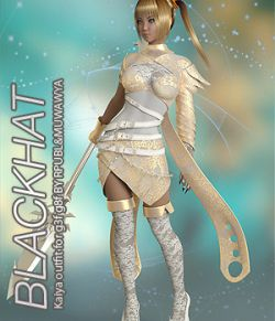 BLACKHAT - Kaiya outfit for g3f g8f