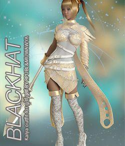 BLACKHAT- Kaiya outfit for g3f g8f