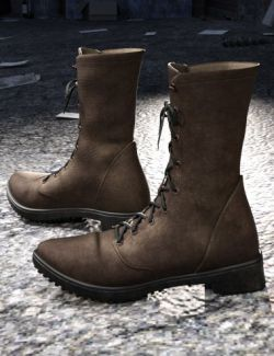 Rocker Boots for Genesis 8 Male(s)